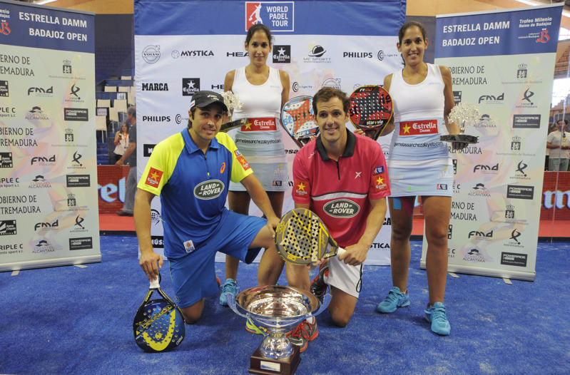 Campeones world padel tour badajoz