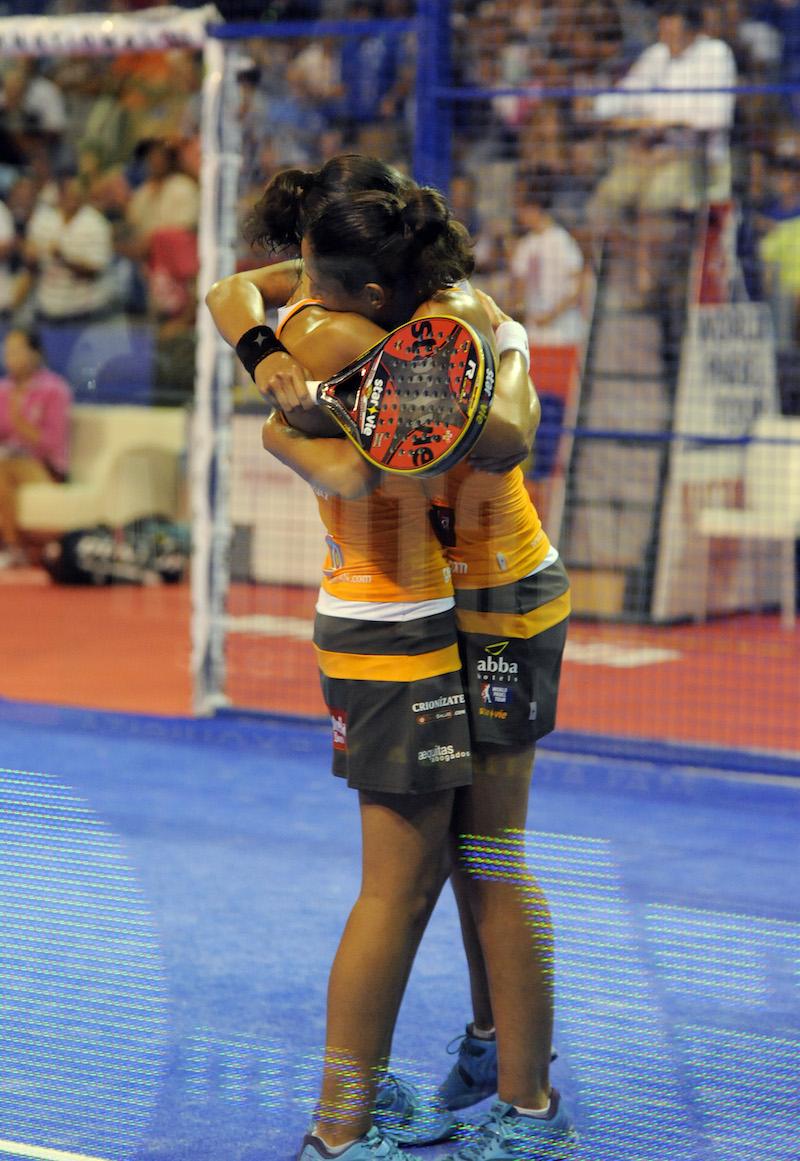 Mapi y Majo campeonas malaga