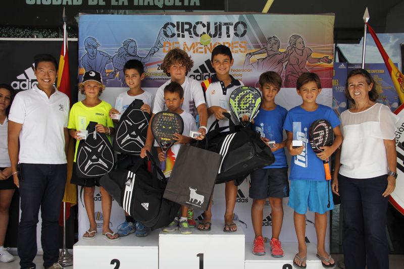 Entrega de trofeos campeonato de españa menores (2)