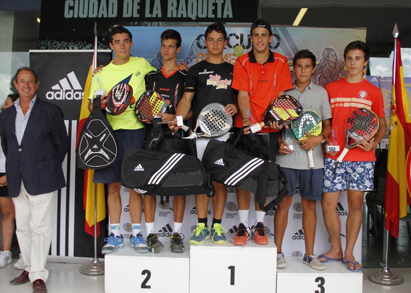 Entrega de trofeos campeonato de españa menores