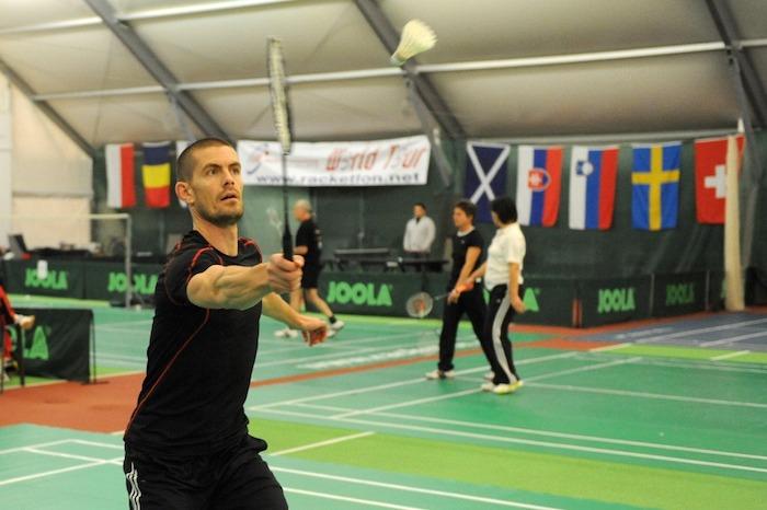 Gus Hansen Badminton