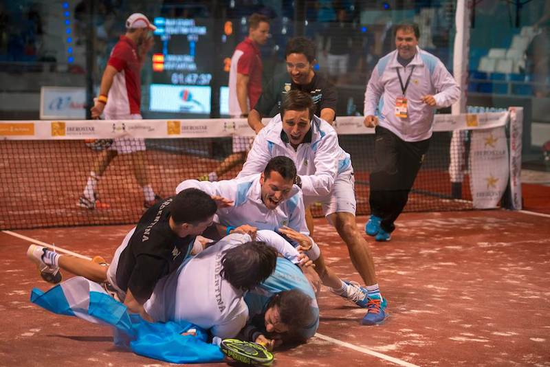 Mundial de padel argentina campeona