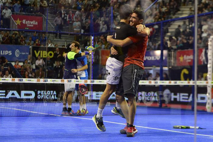 Master World Padel Tour campeones
