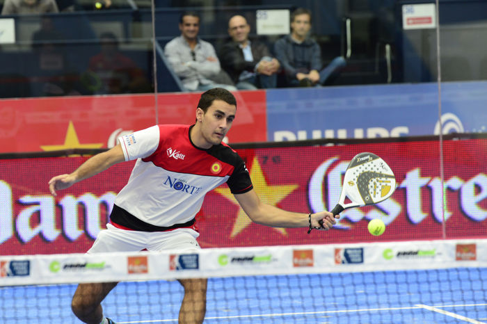 Raul Marcos Parejas y ranking masculino World Padel Tour 2015