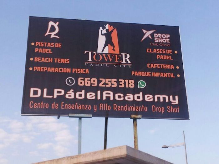 dlpadelacademy tower padel city