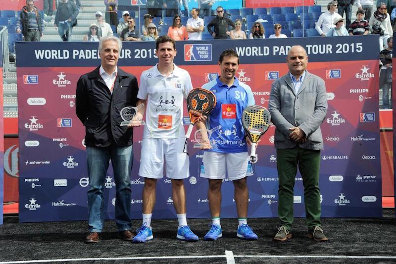 Vencedores Master World Padel Tour Barcelona