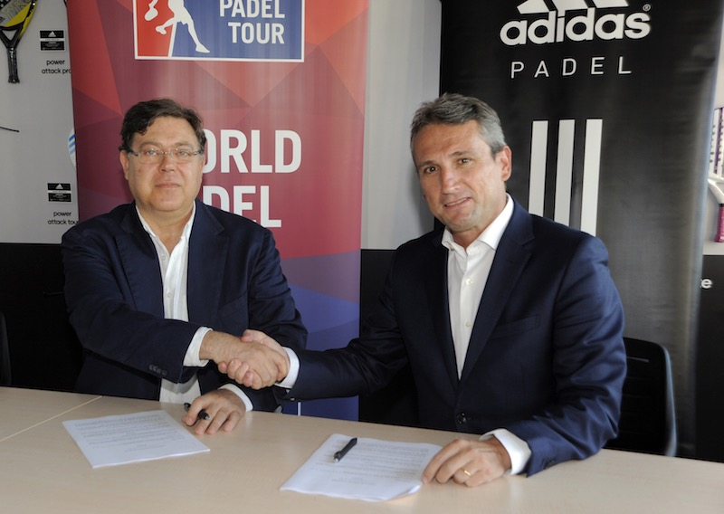 Acuerdo adidas world padel tour