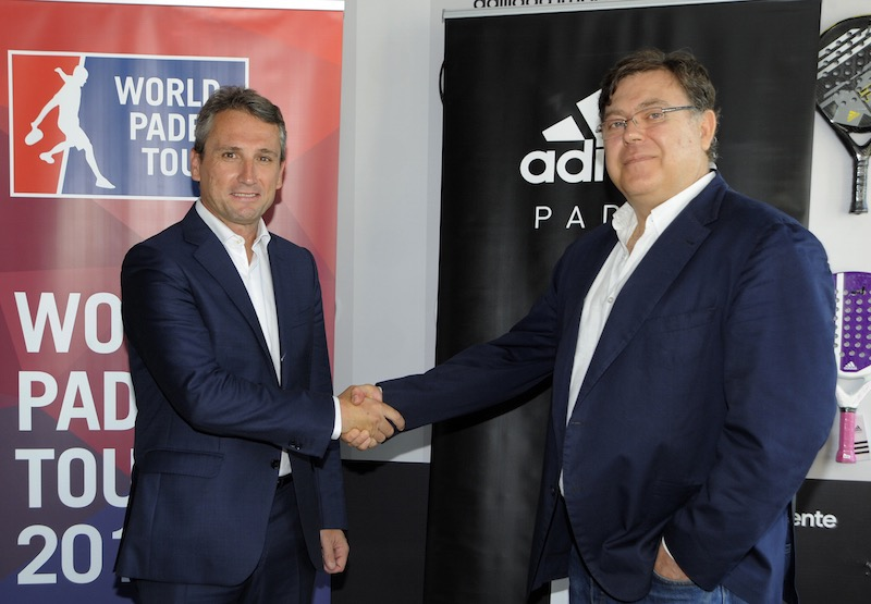 Acuerdo entre adidas world padel tour