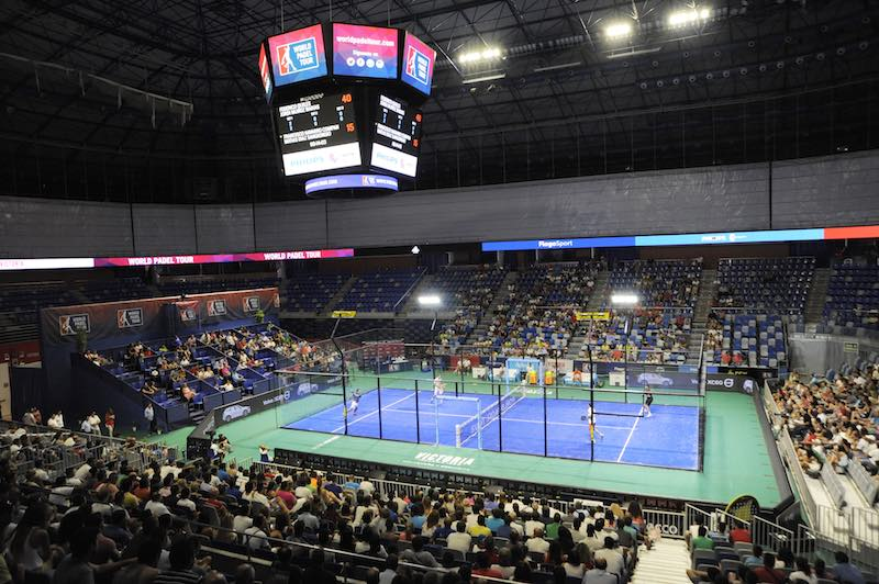 Panoramica World Padel Tour Malaga