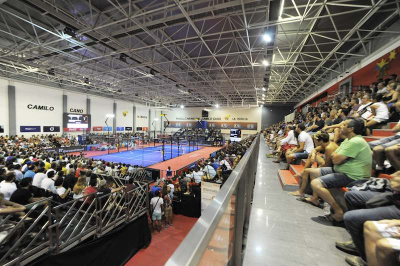 Panoramica World Padel Tour La Nucia