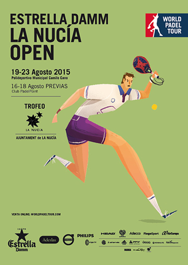 Inscritos y ranking masculino World Padel Tour La Nucía 2015