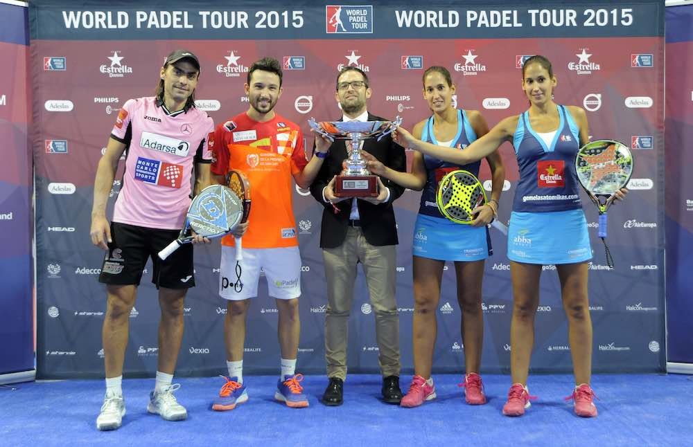 Campeones World Padel Tour Madrid 2015