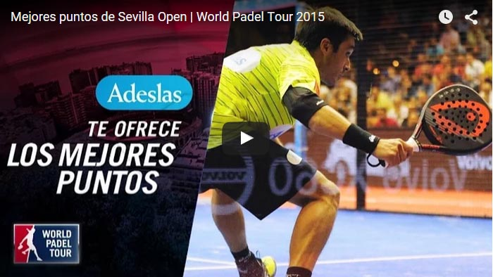 Los tres mejores puntos del World Padel Tour de Sevilla 2015