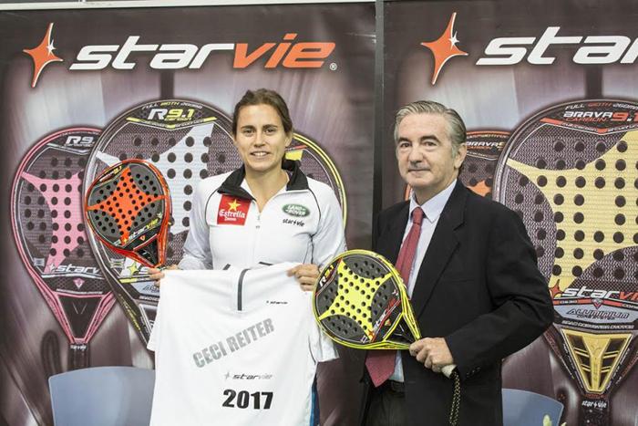 Cecilia Reiter renueva con Star Vie hasta 2017