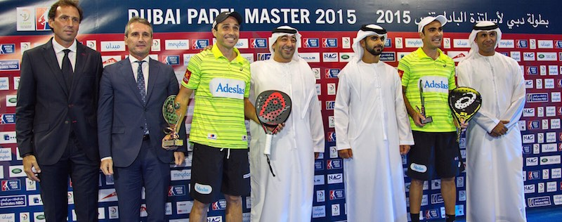 Campeones World Padel Tour Dubai 2015
