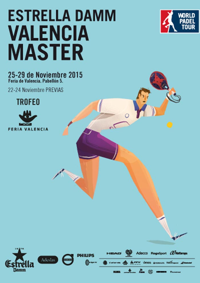 Cuadros y horarios Máster World Padel Tour Valencia 2015