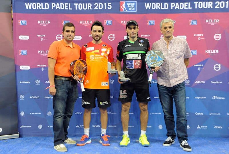 Subcampeones World Padel Tour Euskadi 2015