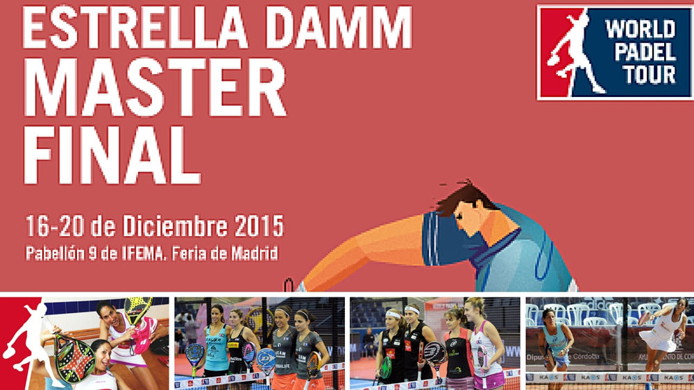 Parejas y ranking femenino Master final World Padel Tour 2015