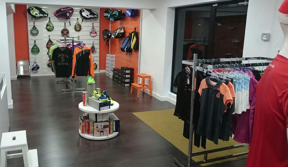 La primera tienda de la cadena Padel Nuestro en Madrid Centro
