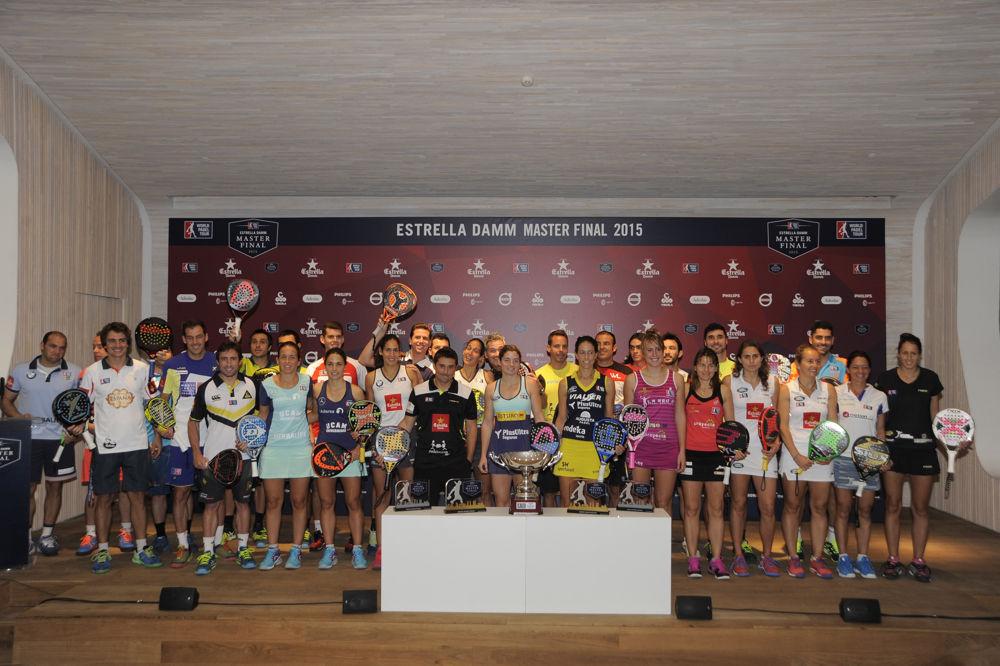 Presentación Final World Padel Tour 2015