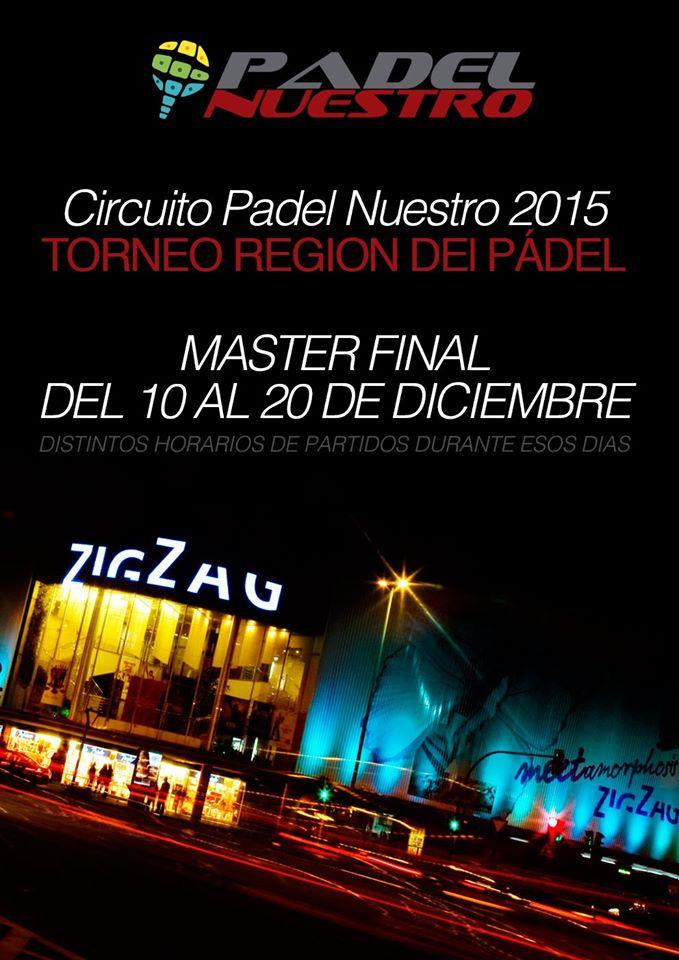 Arranca el Master Final del circuito Padel Nuestro en Murcia