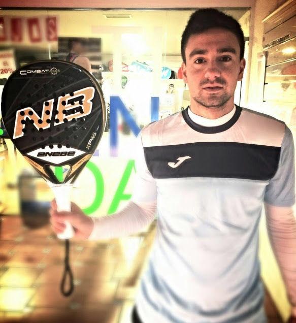 Aris Patiniotis, nuevo jugador Enebe Padel
