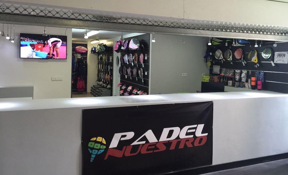 Padel Nuestro abre nueva tienda de padel en Tres Cantos, la primera con pista para probar las palas