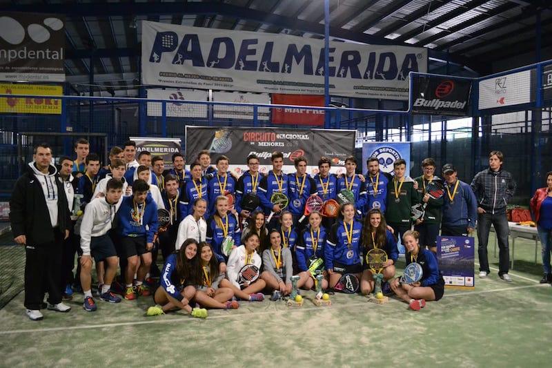 Crónica Campeonato España de Pádel por Equipos de Menores Cadete
