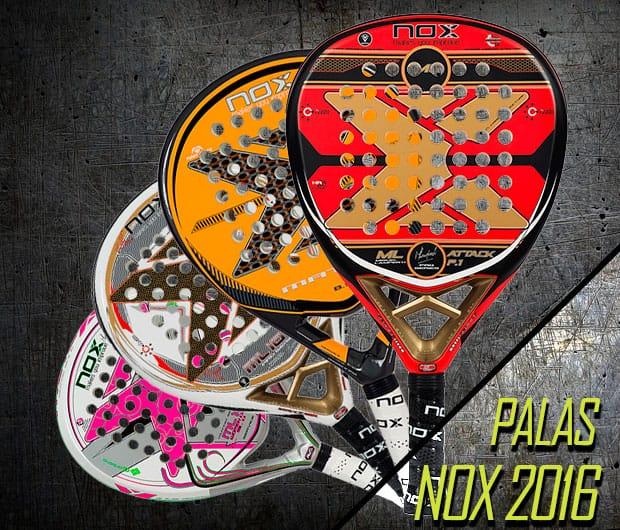 Presentación y análisis de las palas Nox 2016