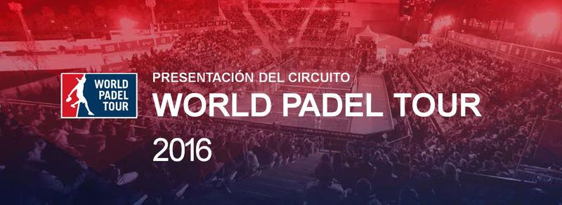 Presentación oficial del Circuito World Padel Tour 2016