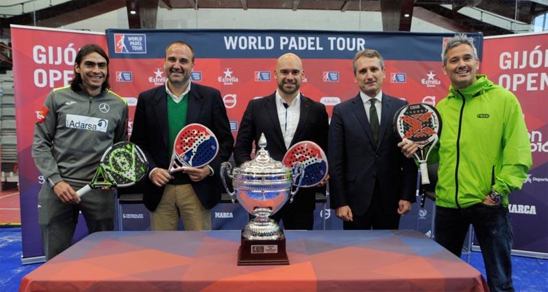 Presentación Oficial World Padel Tour Gijón 2016