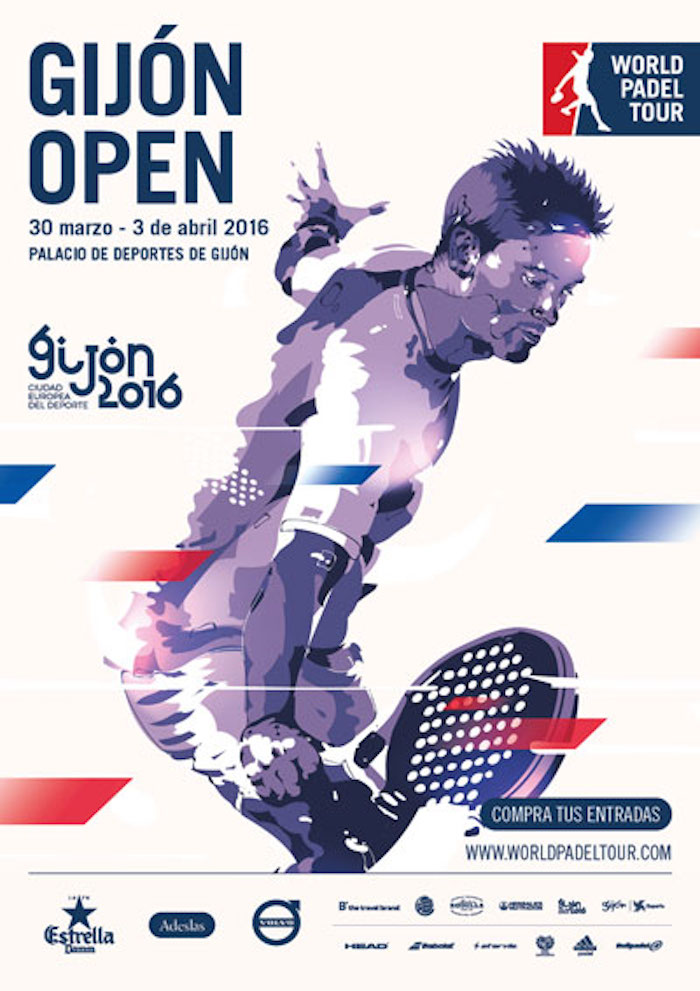 Inscritos y ranking masculino World Padel Tour Gijón 2016