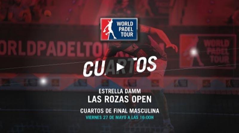 Cuartos World Padel Tour Las Rozas 2016 en directo y online