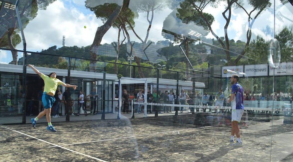 Final World Padel Tour Rome Exhibition