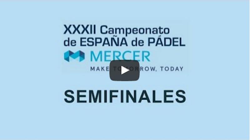 Semifinales Cto de España Absoluto en directo y online