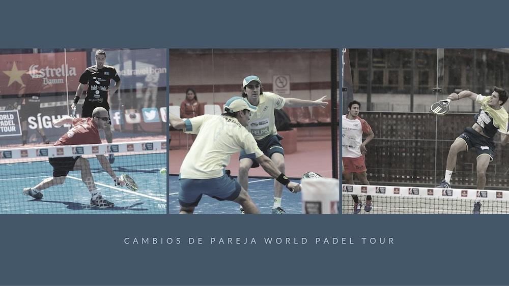CAMBIOS DE PAREJA WORLD PADEL TOUR