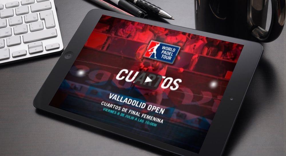 Cuartos femeninos World Padel Tour Valladolid en directo y online