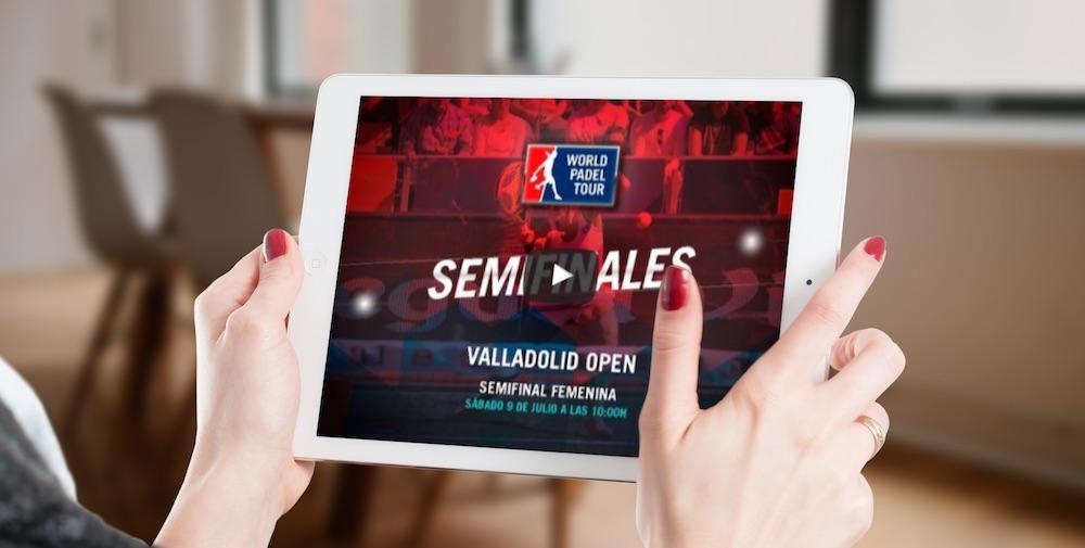 Semifinales femeninas World Padel Tour Valladolid en directo y online