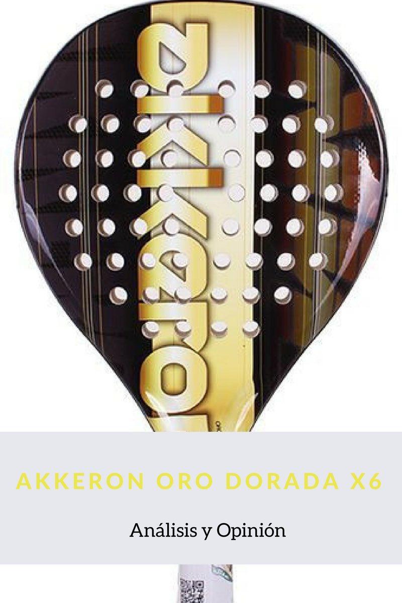 Análisis y opinión Akkeron Oro Dorada X6