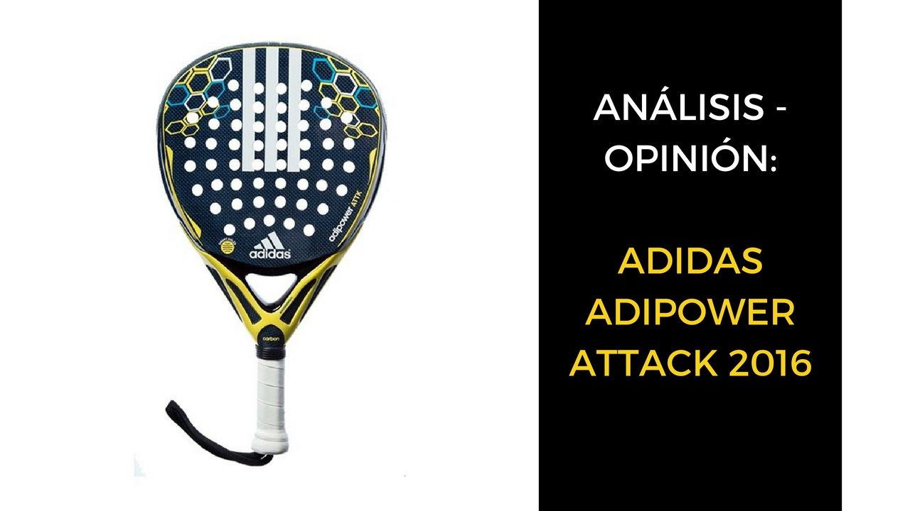 Análisis y opinión Adidas Adipower Attack 2016