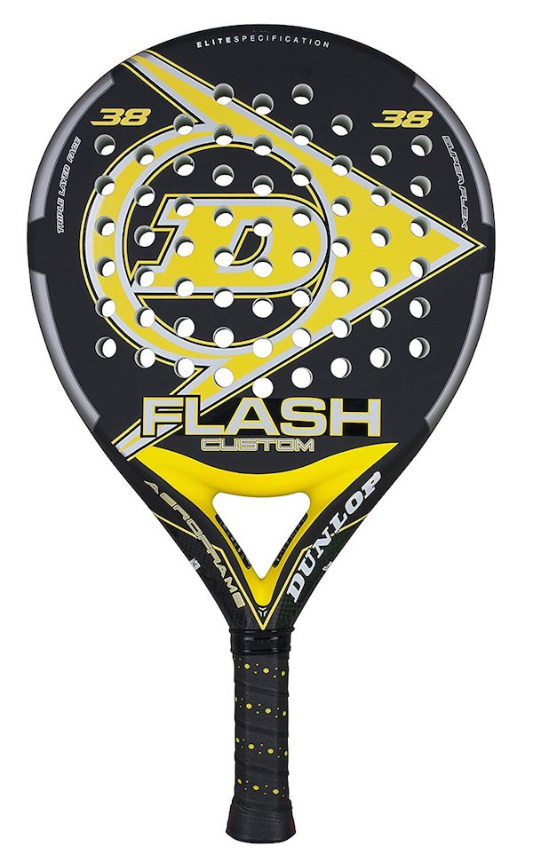 Dunlop Flash Custom 5 palas de pádel recomendadas para pedir a los Reyes Magos este año