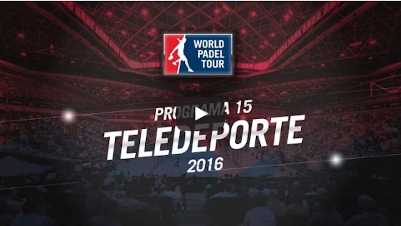 Programa 15 World Padel Tour 2016