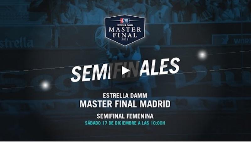 Semis femenina Master WPT 2016 Semifinales Femeninas Master Final WPT 2016 en directo y online