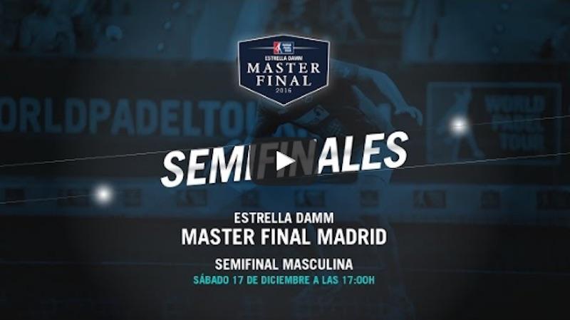 Semis masculina Master WPT 2016 Semifinales Masculinas Master Final WPT 2016 en directo y online