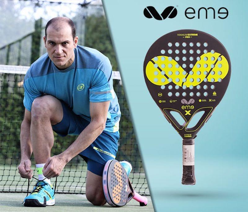 PALAS EME 2017 EME, una marca de pádel con el sello de Pablo Rovaletti