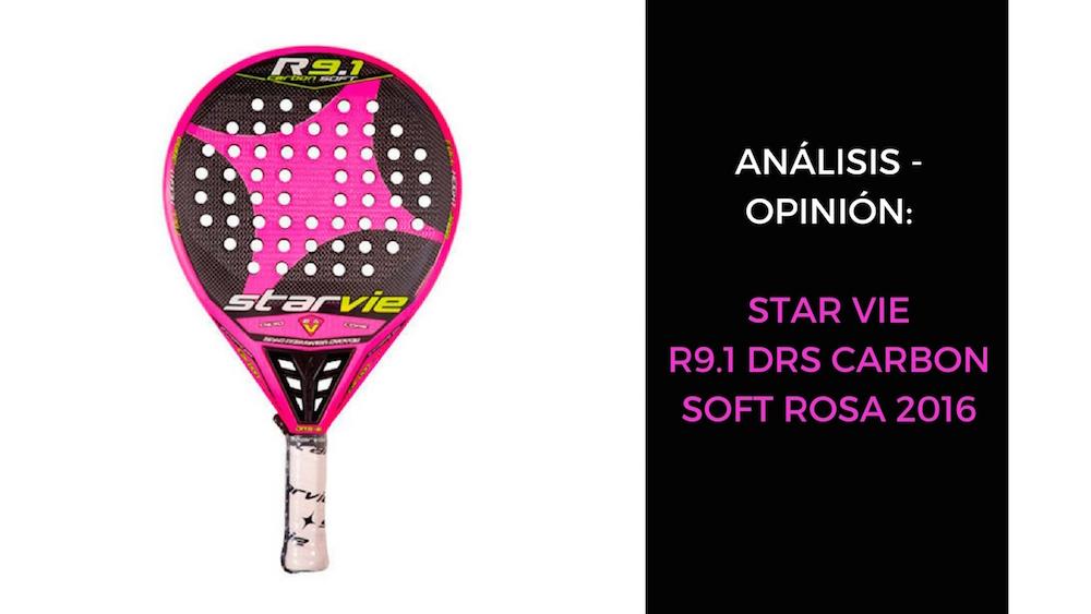 Star Vie R9.1 DRS Carbon Soft rosa 2016 Análisis y opinión Star Vie R9.1 DRS Carbon Soft rosa 2016