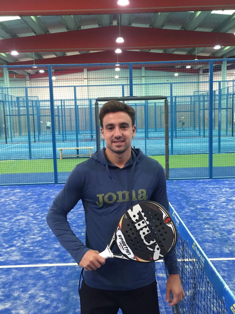 Aris Patiniotis Aris Pationitis, nuevo jugador Siux Padel