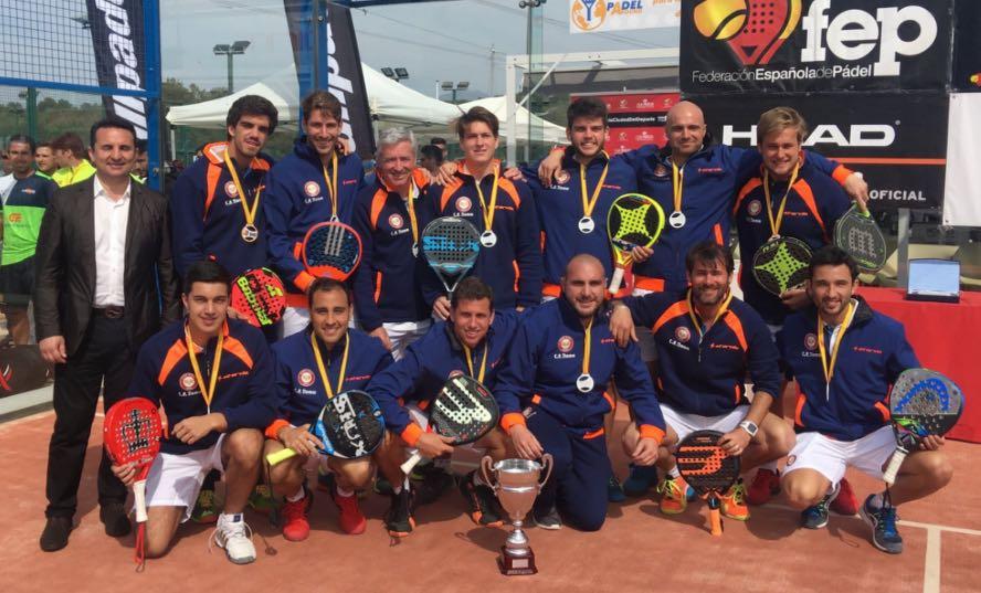 CP DAMM STAR VIE COLLADO MEDIANO Equipos campeones de España por equipos de 1ª - 2017