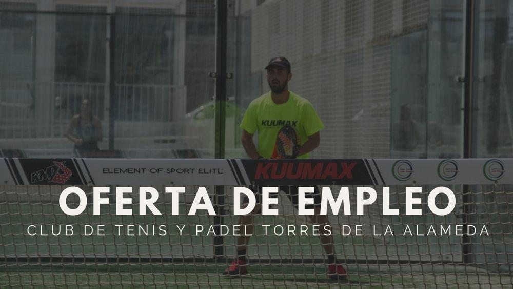 Club de tenis y padel Torres de la Alameda Se busca monitor de padel en Torres De La Alameda (Madrid)