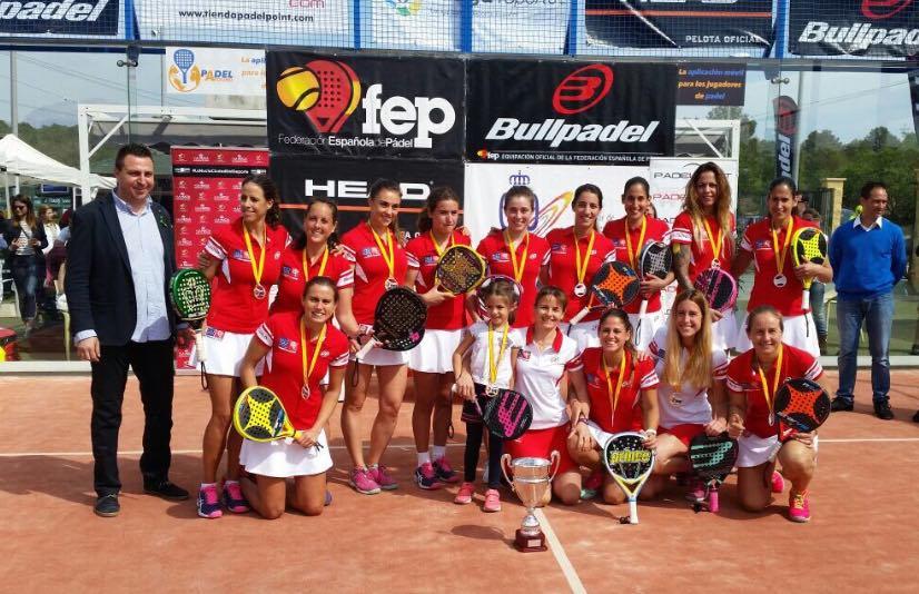 MONTECARLO ARENAENTRENAPADEL Equipos campeones de España por equipos de 1ª - 2017